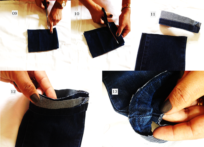 Como fazer a barra da calça jeans sem máquina de costura