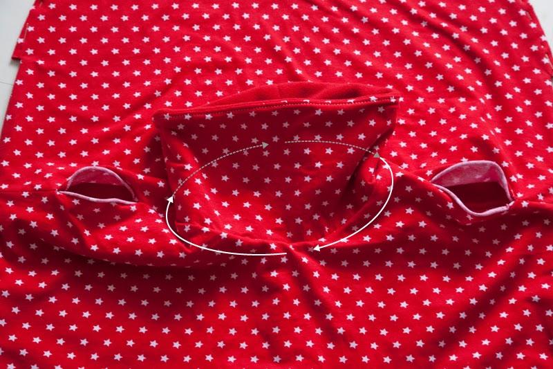 pattern poncho infantil