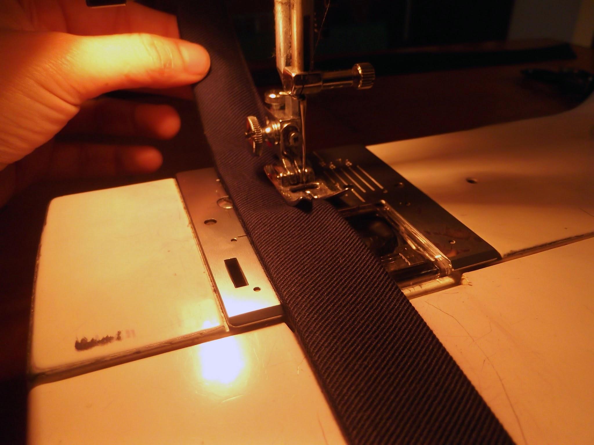 Costurar alças de saco, como costurar alças de saco